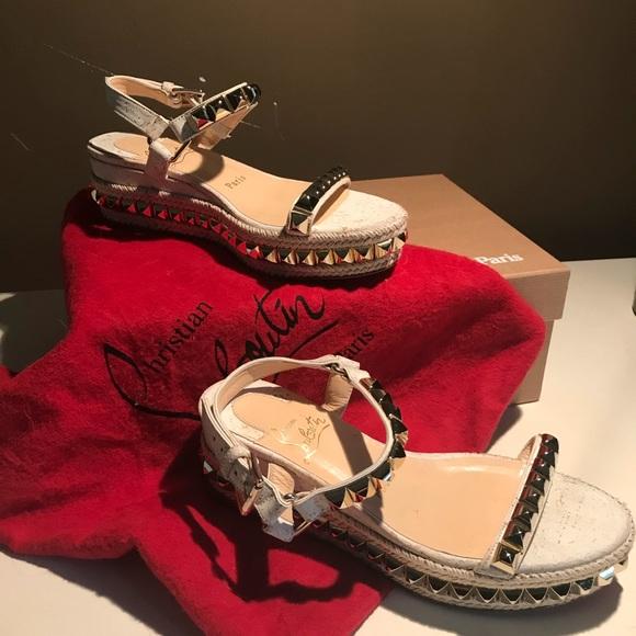 c6c1576bd00 Christian Louboutin Cataclou Sandals NWT